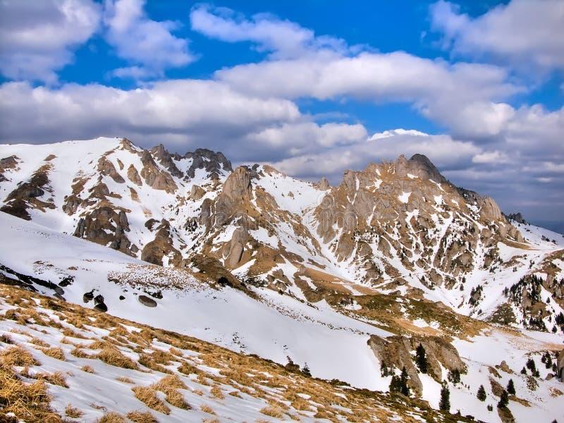 прикарпатские горы ciucas стоковое фото