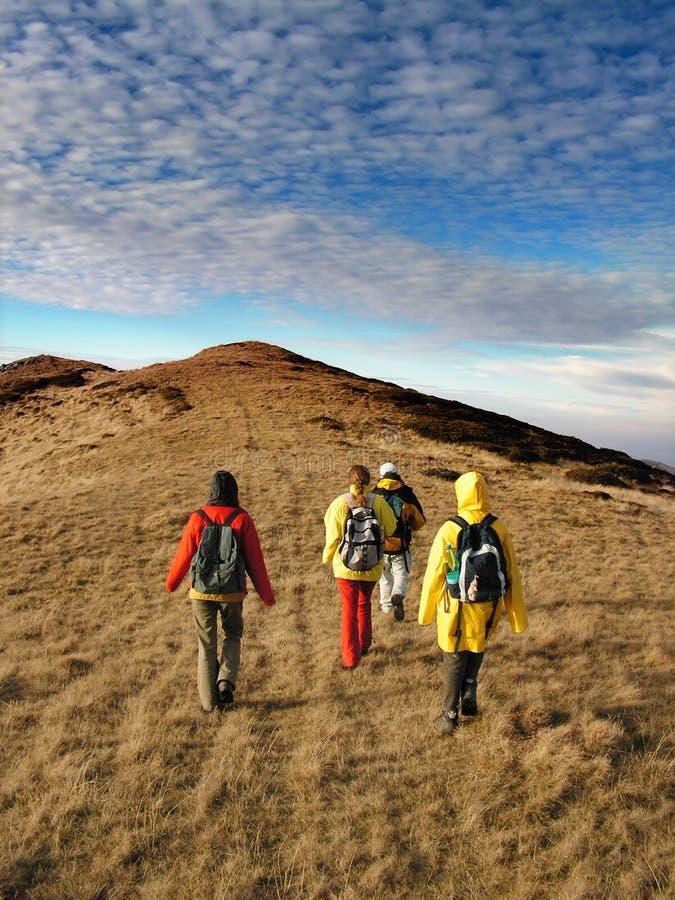 прикарпатский trekking стоковая фотография