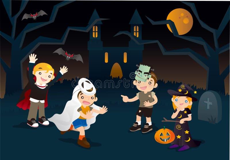 Приключение Halloween бесплатная иллюстрация