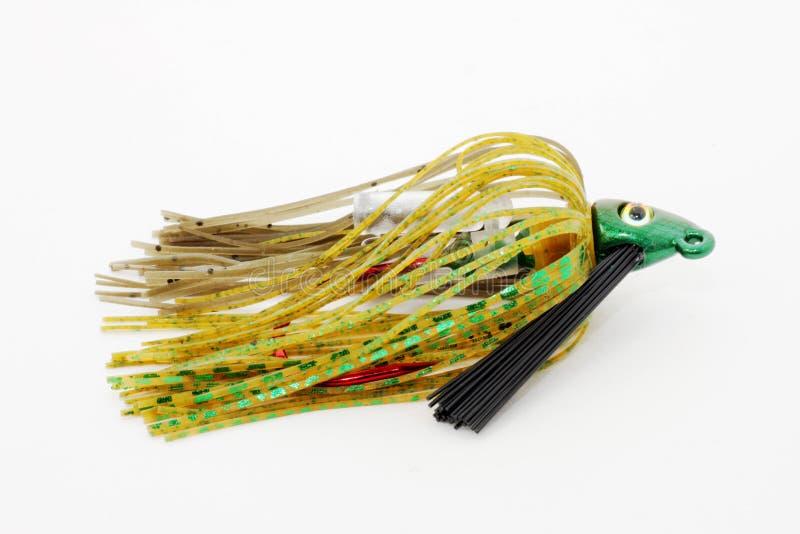 прикорм джига рыболовства стоковое изображение