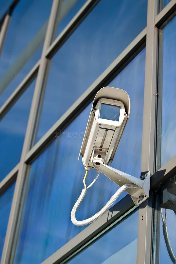 прикрепленная строя обеспеченность камеры стоковые изображения