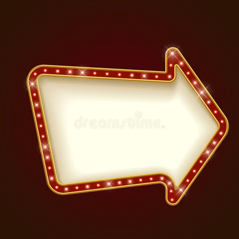 Прикройте округленную рамку шатёр стрелки бесплатная иллюстрация