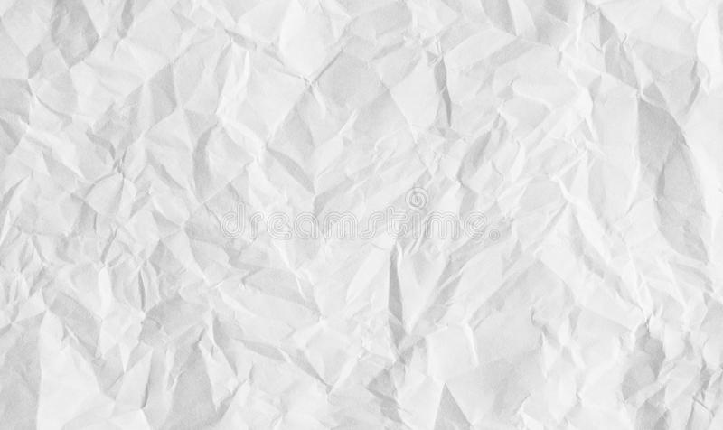 Прикройте creased бумажную текстуру стоковые изображения
