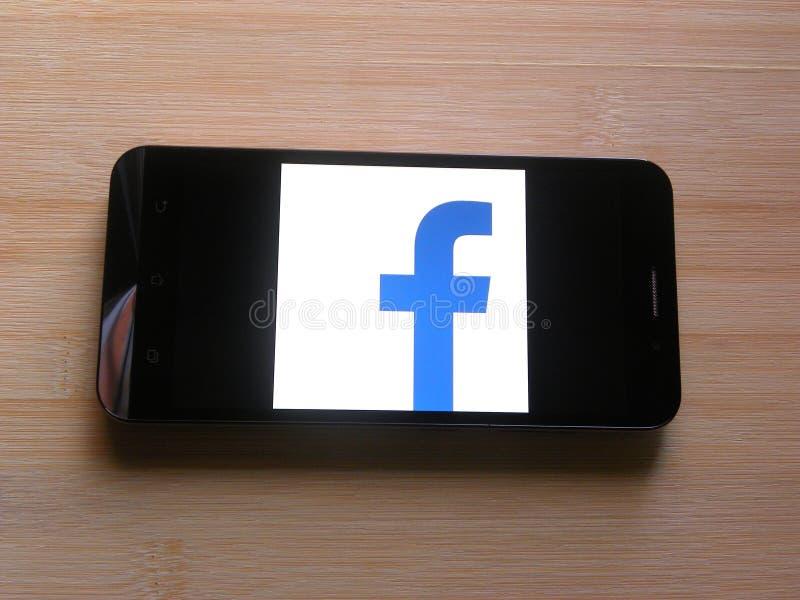 Приложение Facebook Lite стоковое изображение