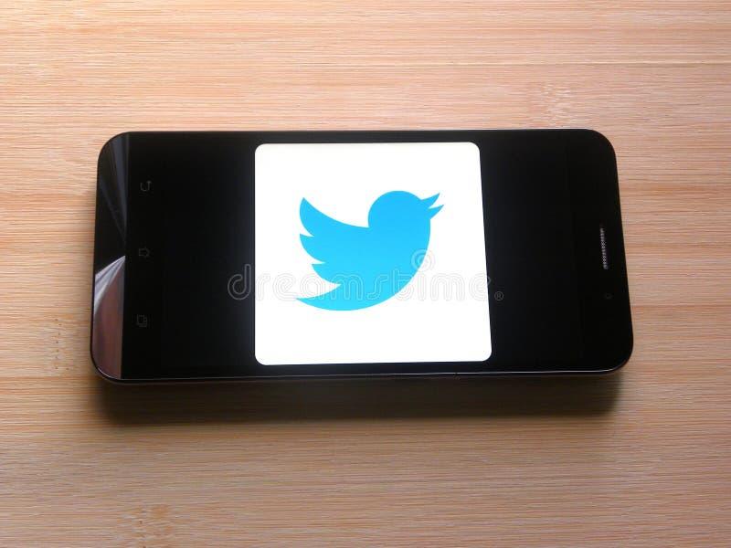 Приложение Twitter Lite стоковая фотография