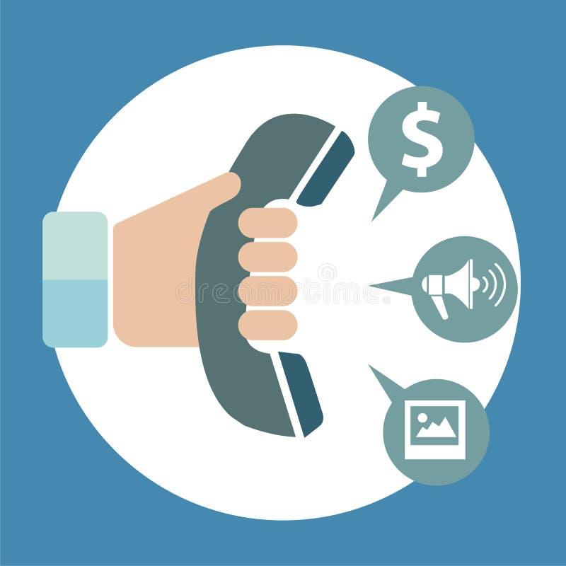 Приложения обслуживаний сети и мобильного телефона Значки для Ч иллюстрация штока