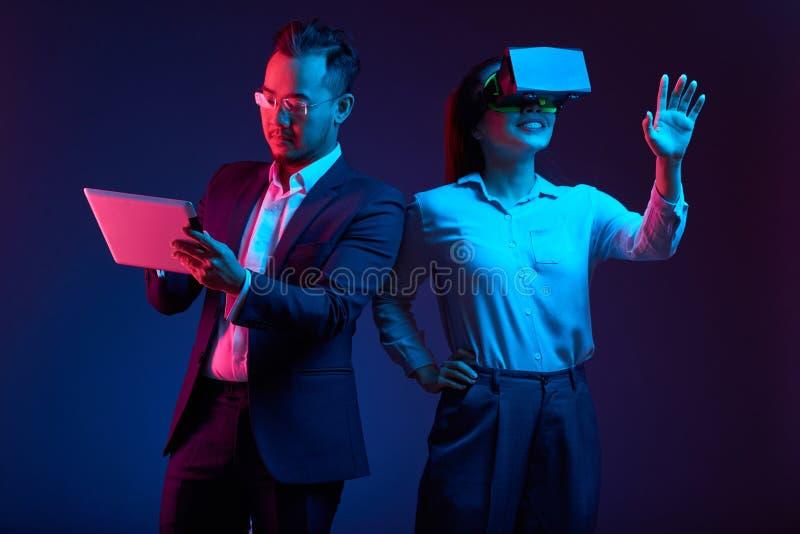 Применение испытания VR стоковые фото