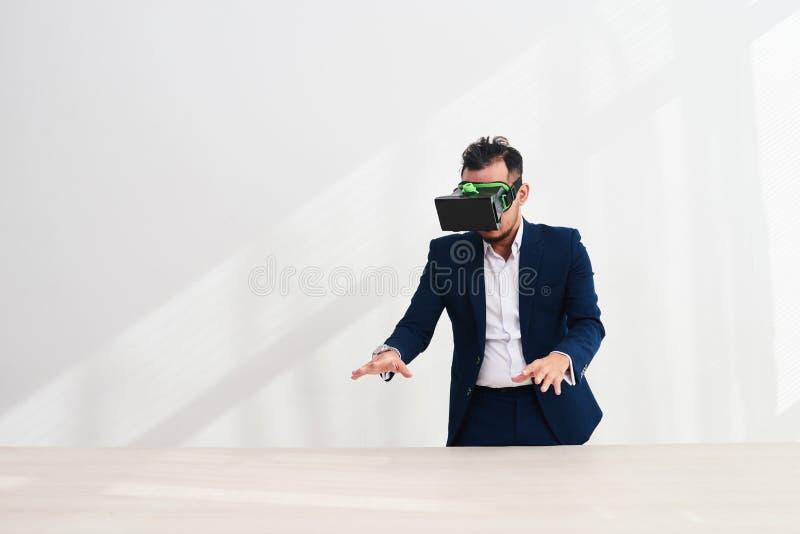 Применение испытания VR стоковые изображения rf