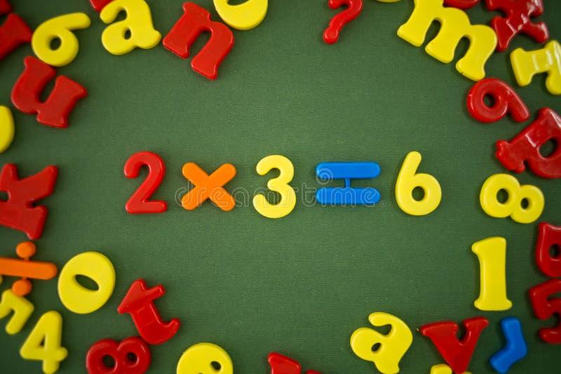 Пример математики стоковые изображения