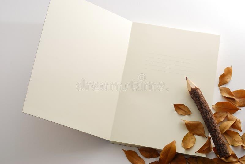 примечание книги Стоковое фото RF