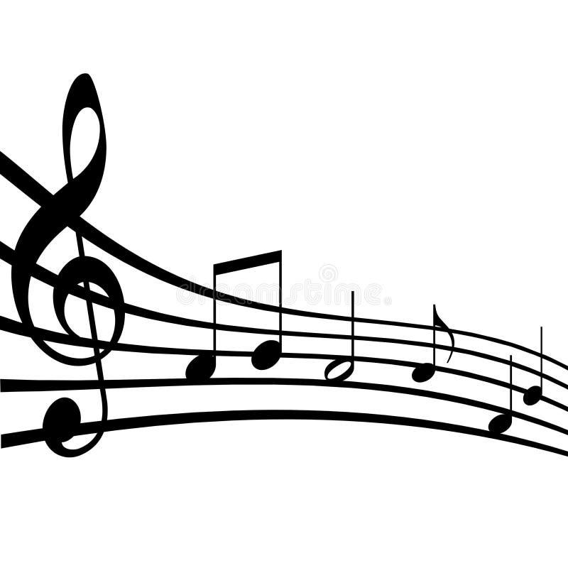 примечания нот иллюстрация штока