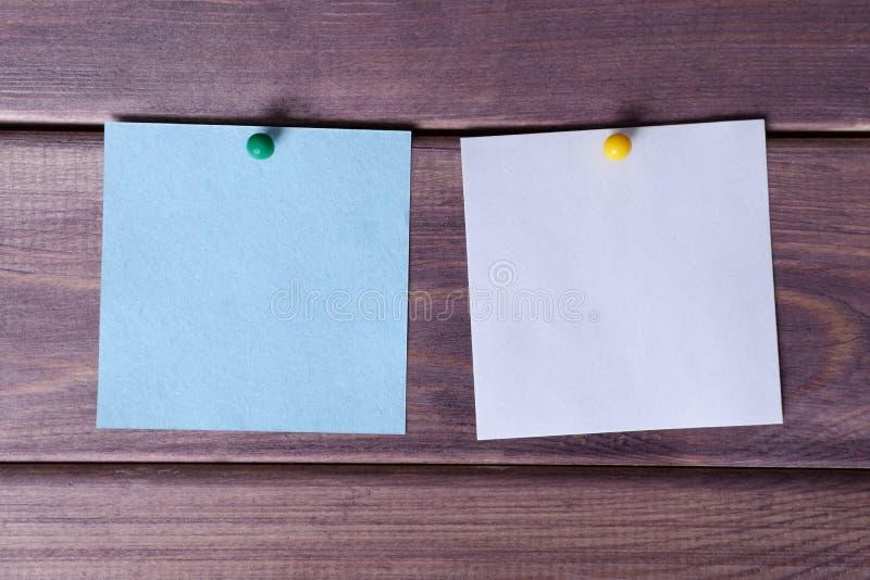 Примечания, стикеры стоковое изображение rf