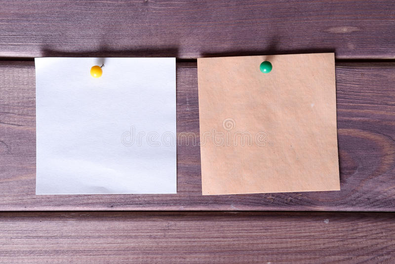 Примечания, стикеры стоковое изображение