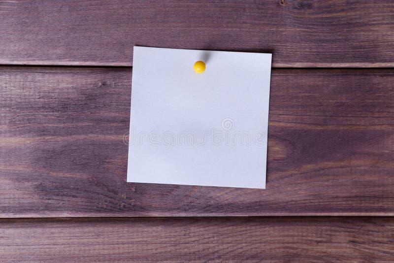 Примечания, стикер стоковая фотография rf