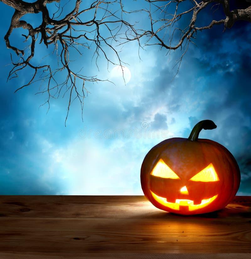 примечания лунного света halloween летучей мыши предпосылки иллюстрация вектора