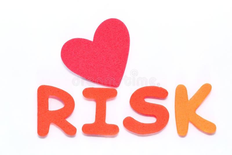 Примите риск стоковая фотография
