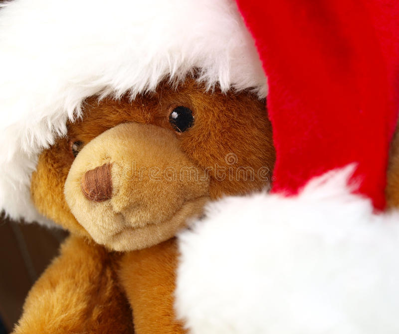 принесите игрушечный santa стоковая фотография