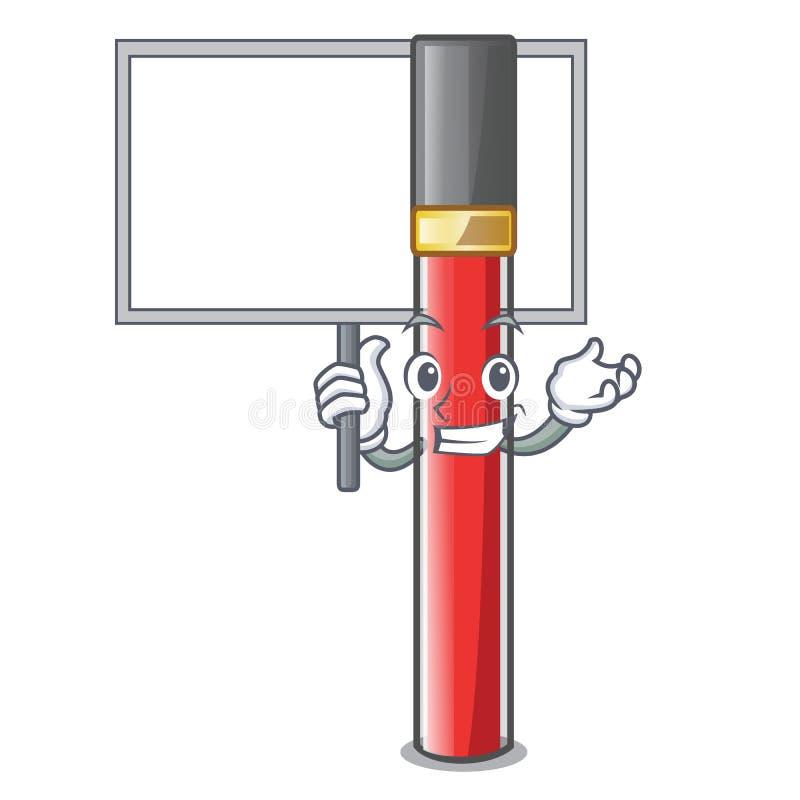 Принесите лоск губы доски в форме мультфильма бесплатная иллюстрация