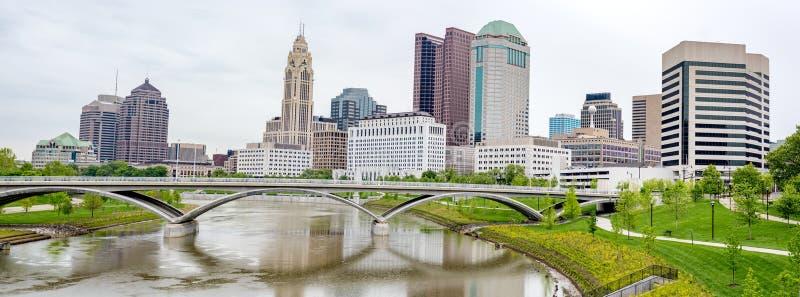 Принесите реку крестов в Колумбусе Огайо стоковое фото rf