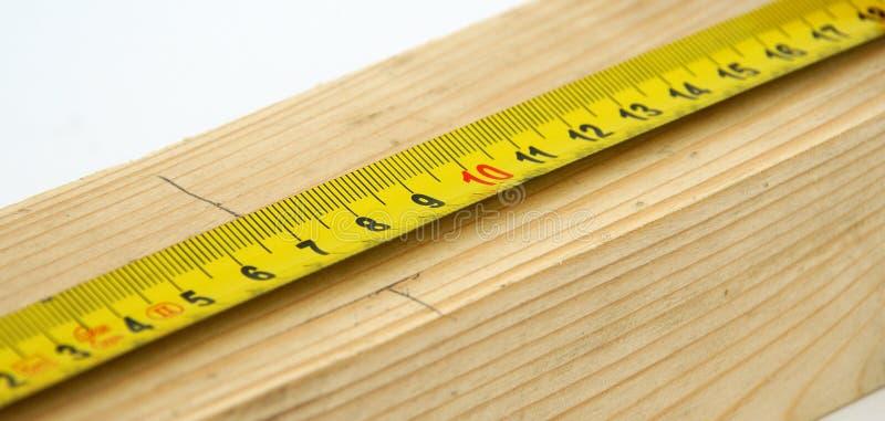 принимать измерения стоковая фотография rf