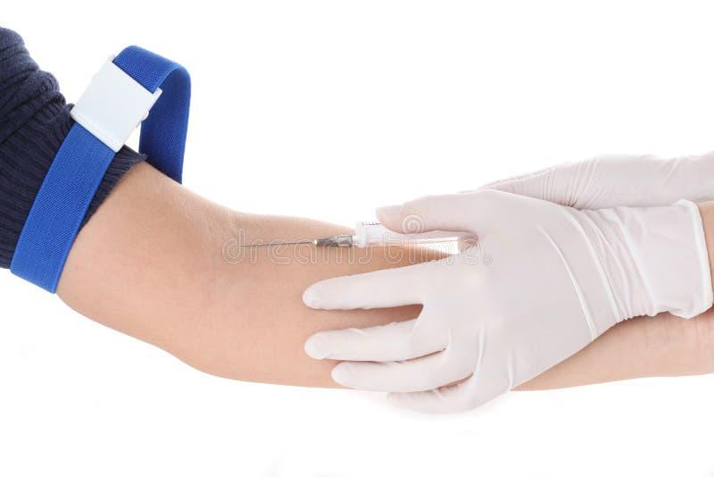 Принимать крови стоковые изображения rf