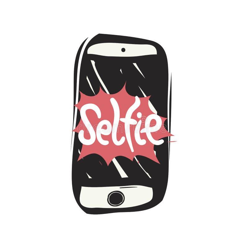 Принимать фото selfie бесплатная иллюстрация