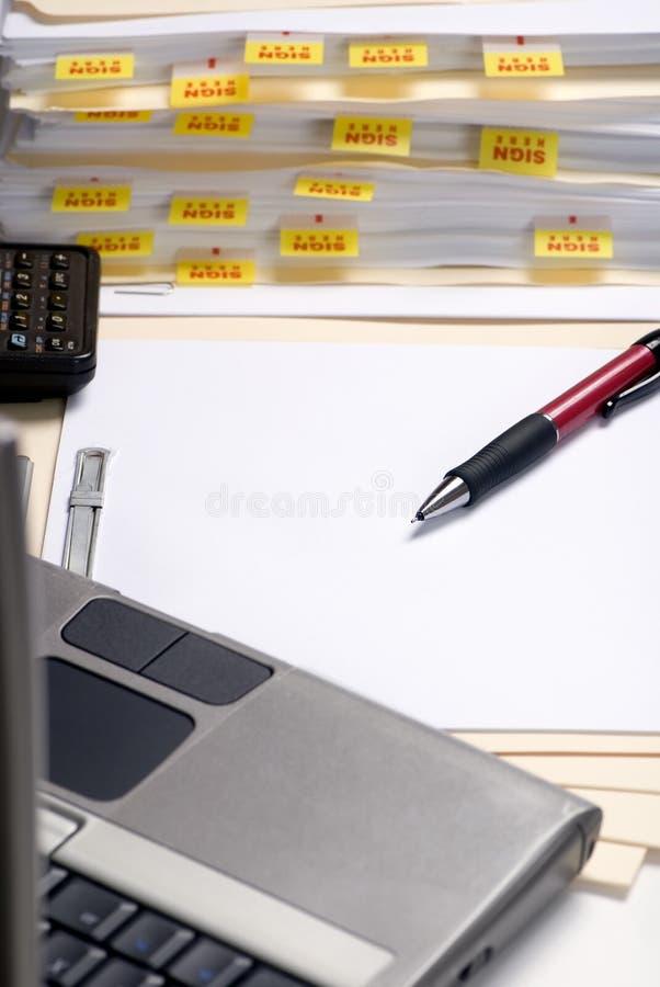 приносить домашний офис стоковые фотографии rf