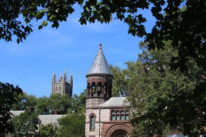 Принстонский университет в Нью-Джерси стоковое фото rf