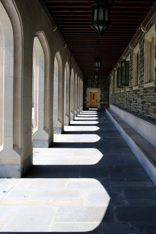 Принстонский университет в Нью-Джерси стоковое изображение