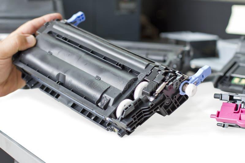принтеры обслуживают xerox стоковое фото rf