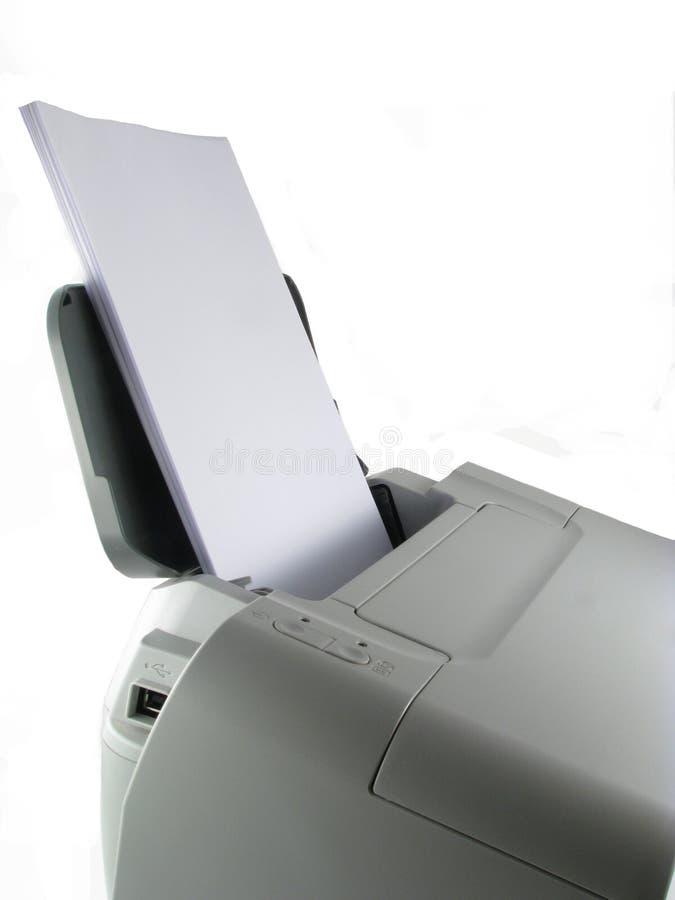 принтер стоковая фотография