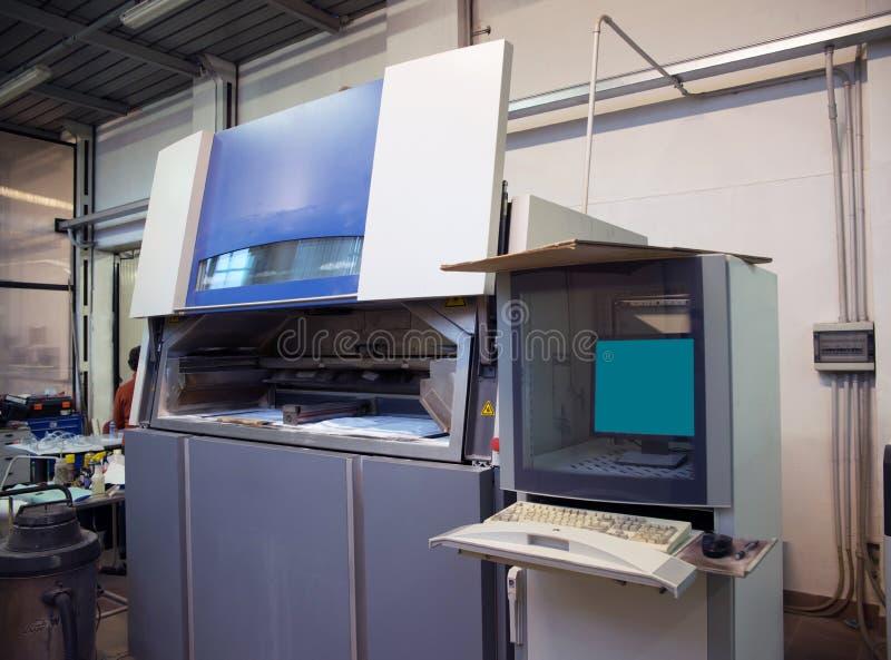 принтер 3D & x28; SLS& x29; стоковые фотографии rf