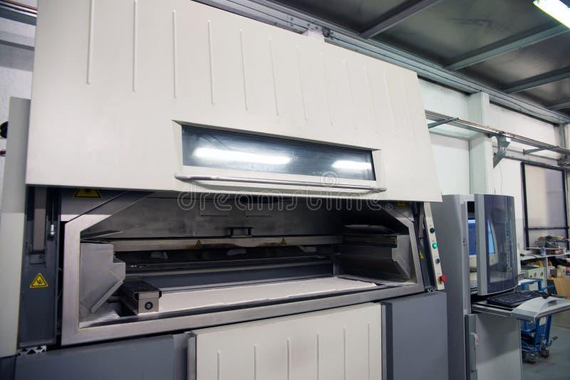 принтер 3D & x28; SLS& x29; стоковые изображения