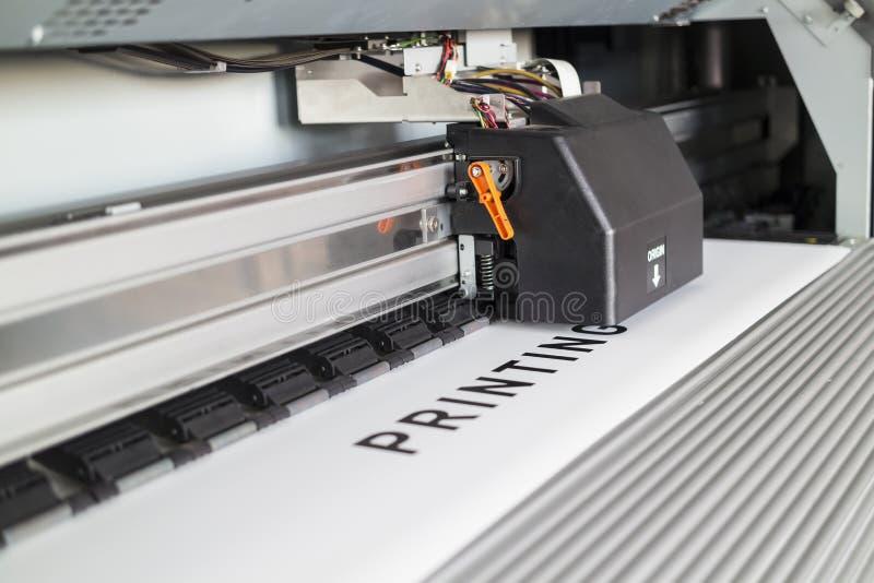 Принтер Ecosolvent стоковая фотография rf