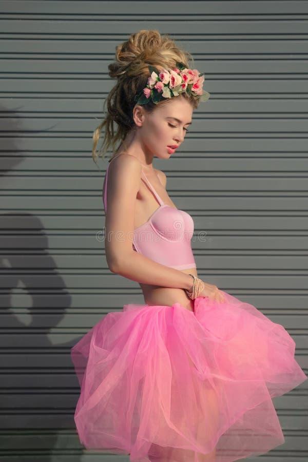 Принцесса молодой женщины стоковое изображение rf
