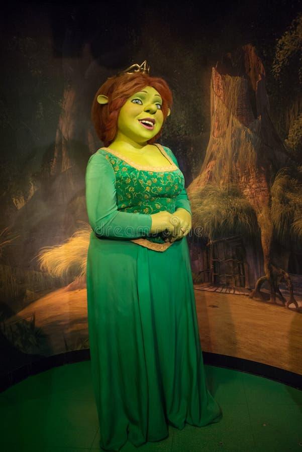 Принцесса Fiona в музее Мадам Tussauds стоковое фото rf