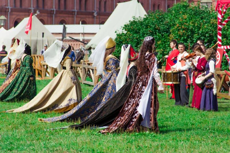 принцессы парада стоковое изображение