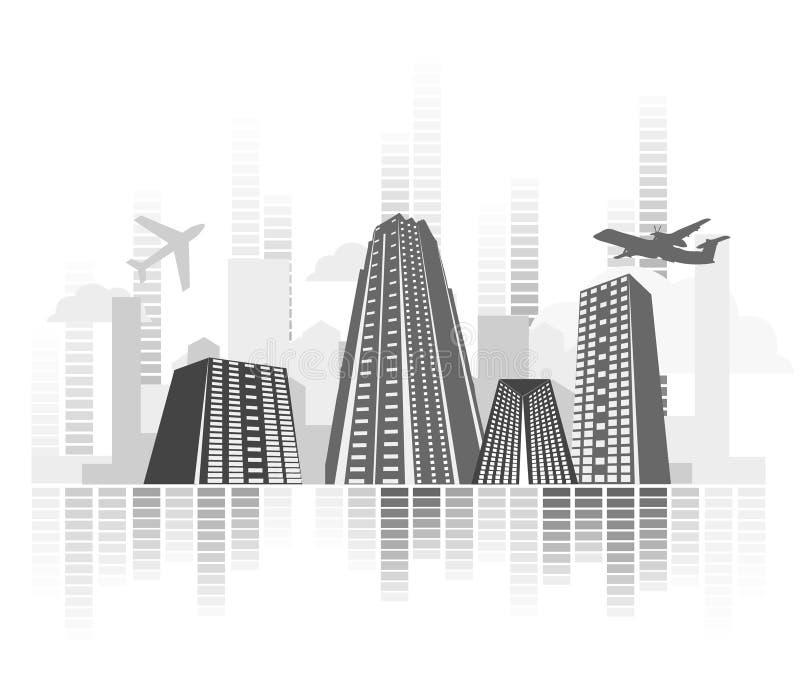 принципиальная схема города произведения искысства бесплатная иллюстрация