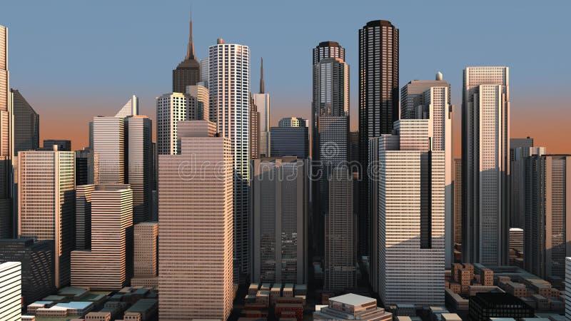 принципиальная схема города бесплатная иллюстрация