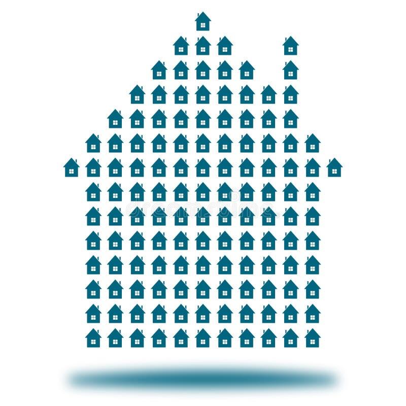 Принципиальная схема дома