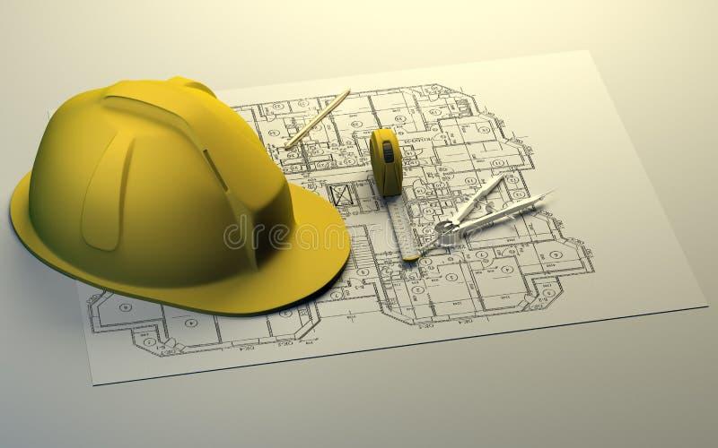 Download принципиальная схема здания Иллюстрация штока - иллюстрации насчитывающей предмет, защитно: 18396102