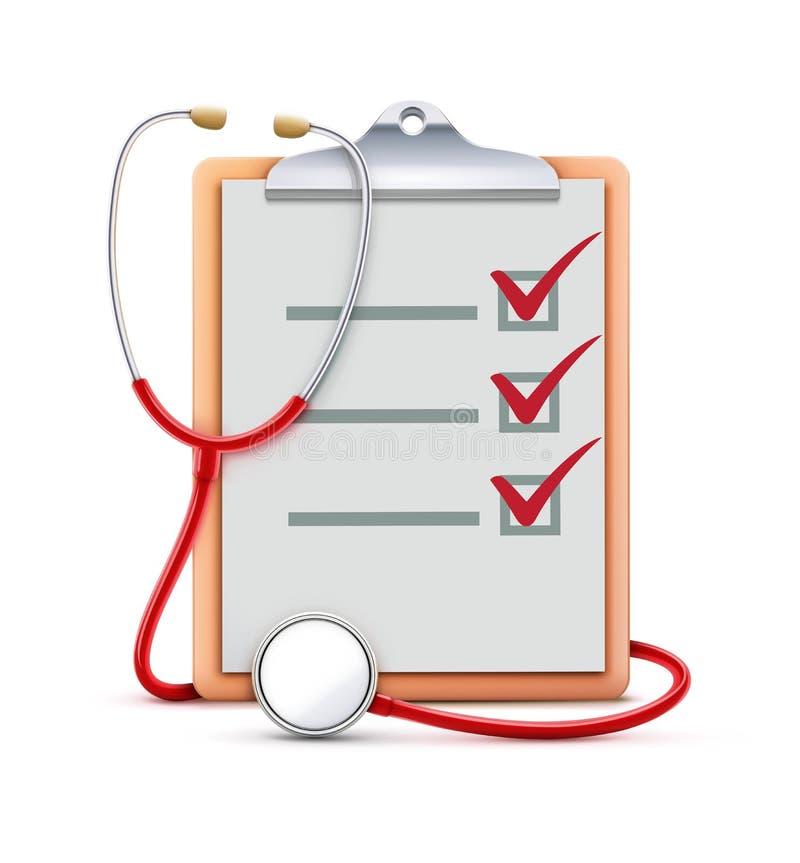Принципиальная схема медицинского соревнования бесплатная иллюстрация
