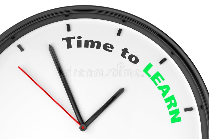 принципиальная схема учит время к иллюстрация штока