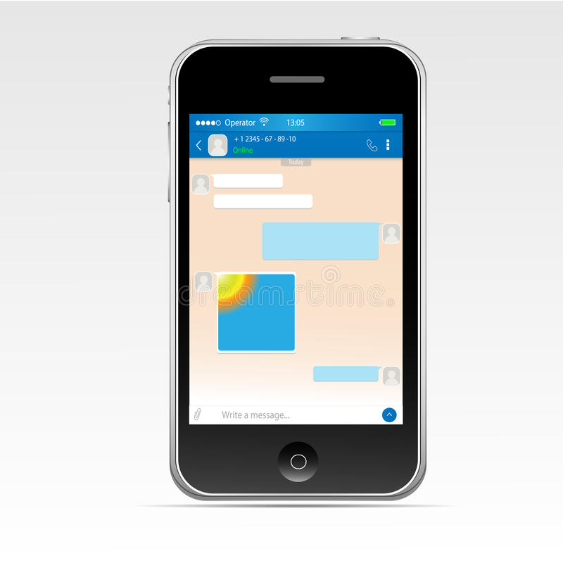 принципиальная схема цифрово произвела высокий social res сети изображения иллюстрация вектора