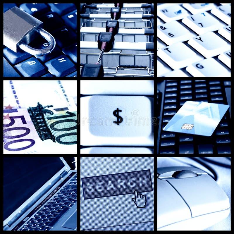 принципиальная схема e коммерции стоковые фотографии rf