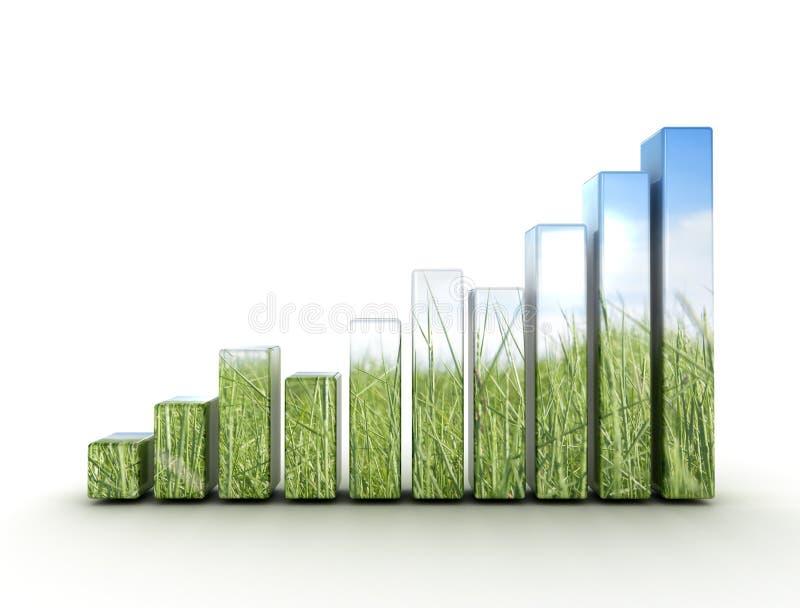 Принципиальная схема eco диаграммы иллюстрация штока