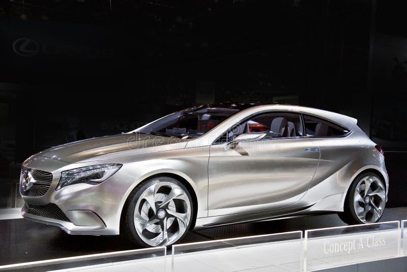 принципиальная схема mercedes типа автомобиля benz стоковая фотография