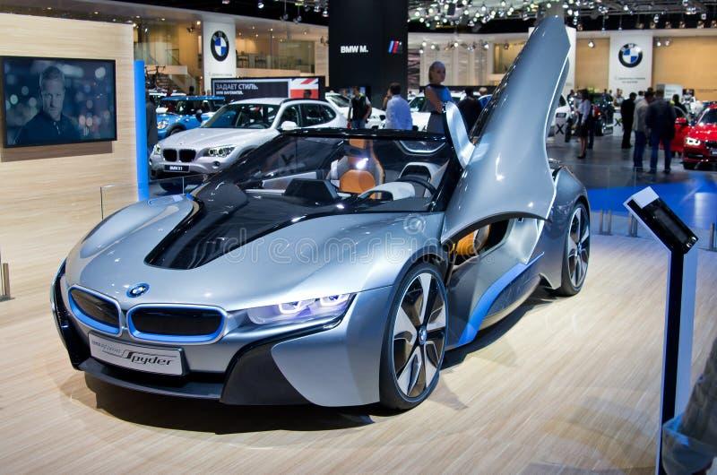 Принципиальная схема Spyder BMW стоковые фото