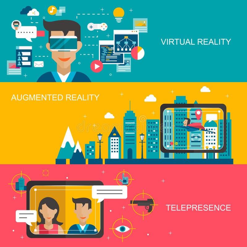 Принципиальная схема виртуальной реальности