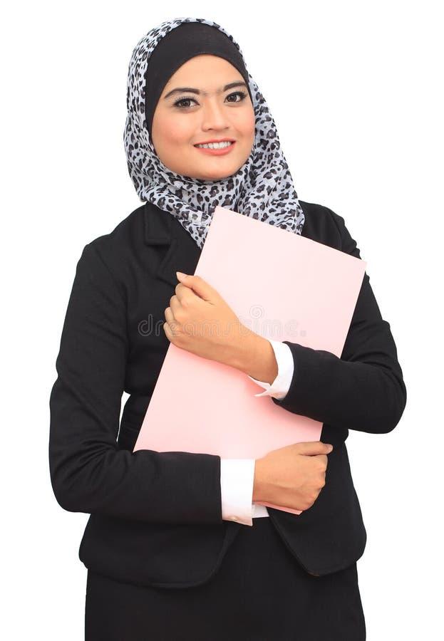 Принципиальная схема дела Muslimah стоковая фотография rf